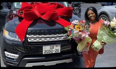 Nana Aba Anamoah receives Range Rover as birthday gift