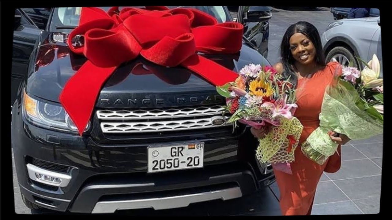 Nana Aba Anamoah receives Range Rover as birthday gift